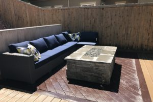 Custom Fire Pit Fire Table | FarWest Landscape | Boise Idaho