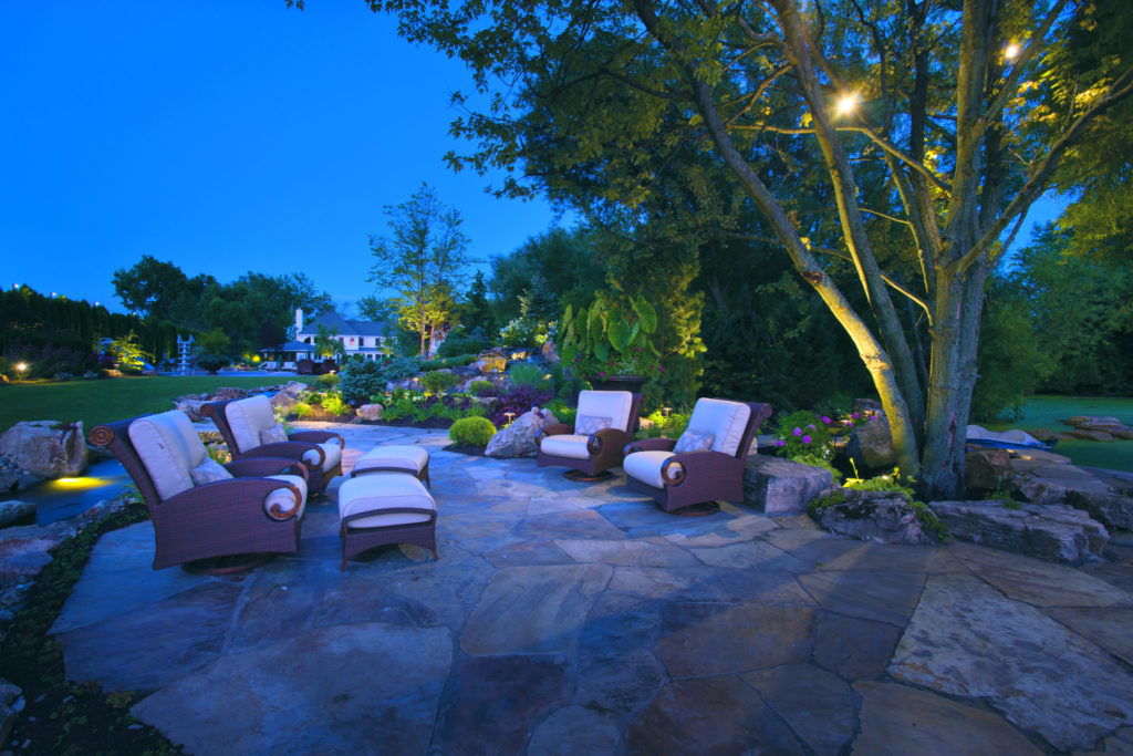 Outdoor lighting farwest landscape boise idaho for Landscape design boise