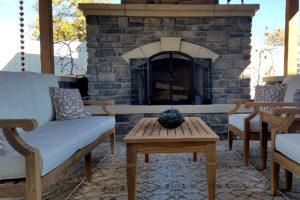 fireplace | FarWest Landscape | Boise