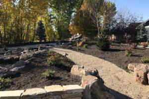 gravel path landscape | FarWest Landscaping