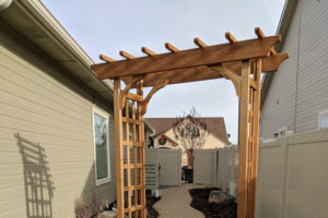 gravel path and pergola | FarWest Landscaping | Boise